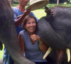 Rhonda and the Elephants.